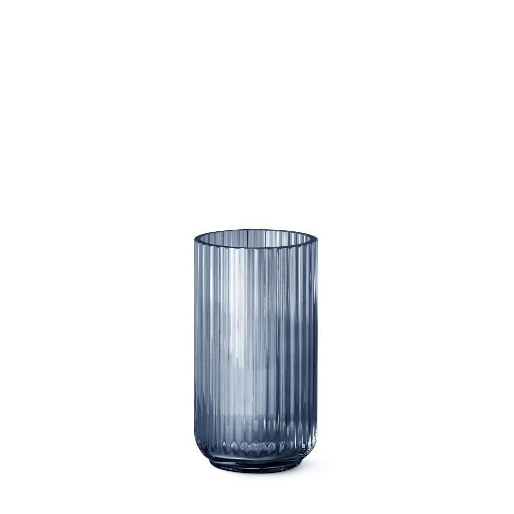 Lyngby Vase Vase Vase Blaues Glas, 20cm B07B2ZPZW9 Vasen d58de4