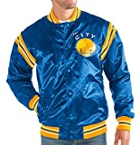 Golden State Warriors NBA Men's Starter ''The Enforcer'' HWC Premium Satin Jacket (3XL)