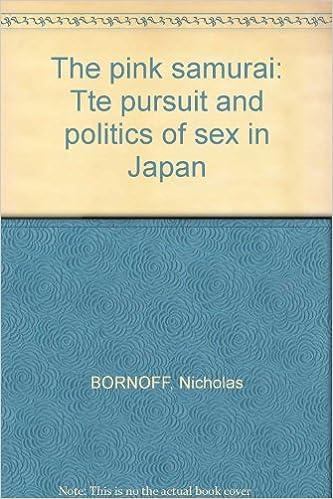 In japan pink politics pursuit samurai sex