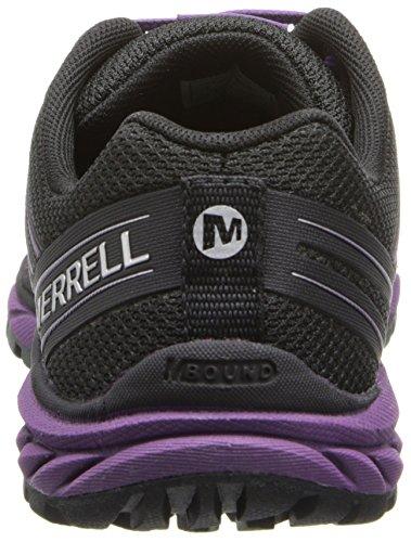 Merrell BARE ACCESS TRAIL - Zapatillas De Deporte Para Exterior de material sintético mujer multicolor - Mehrfarbig (BLACK/PURPLE)