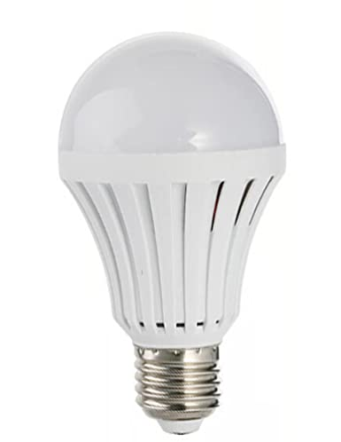 the latest 4fe72 dc303 LED Light Bulb with Built-in Rechargeable Backup Battery 5 watt