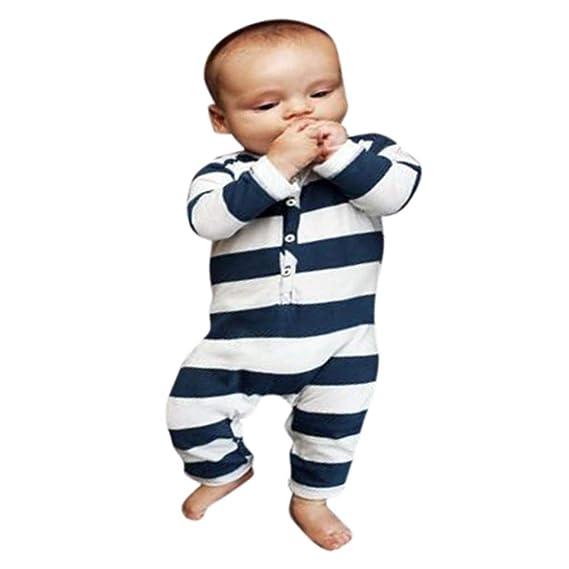 Baiomawzh Ropa Bebe Niña Niño Recién Nacido -Mamelucos Monos ...