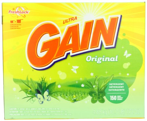 Gain With Freshlock Original Powder Detergent 150 Loads 172 Oz, Health Care Stuffs