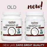 Nutiva Organic, Unrefined, Virgin Coconut Oil, 54 Fl Oz (Pack of 2)