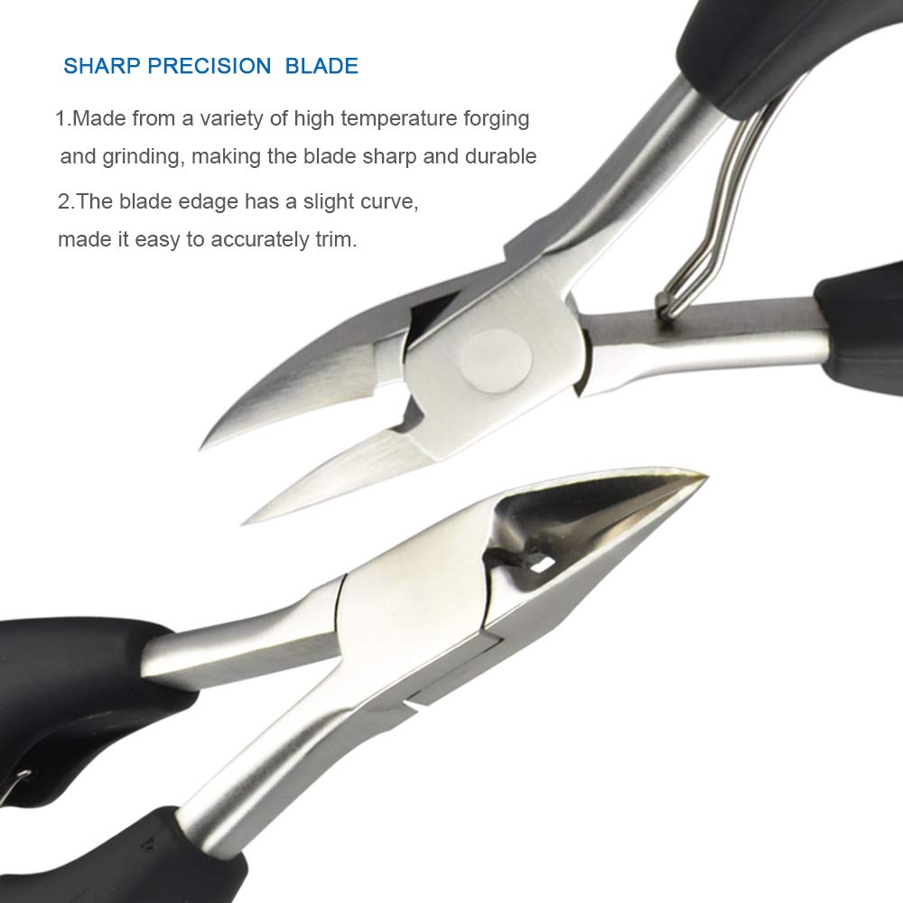 Horsebang Toe Nail Clippers for Thick Nails and Ingrown Toenails, Heavy Duty Toenail Clippers, One of the Large Nail Nipper, Especially Suitable for Seniors by Horsebang (Image #4)