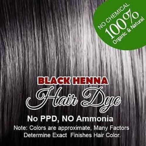 Botanica - Tinte henna negro para el pelo con brocha, guantes ...