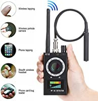 Bug Detector Anti-spy Detector Camera GSM Audio Bug Sweeper Finder GPS Signal Lens RF Tracker Detect Wireless Products...