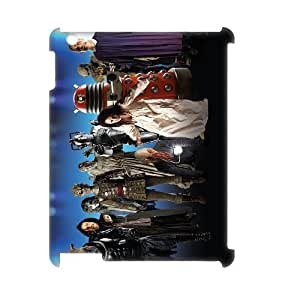 Classic Case Doctor Who pattern design For IPad 2,3,4(3D) Phone Case