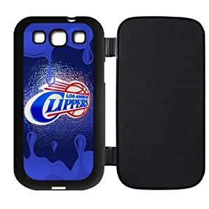 Cellphone accessories Samsung Galaxy SIII i9300 Flip Case LA Clippers background design-by Allthingsbasketball