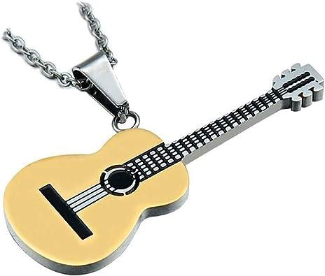 BOBIJOO JEWELRY - Colgante de Guitarra Clásica en Seco ...