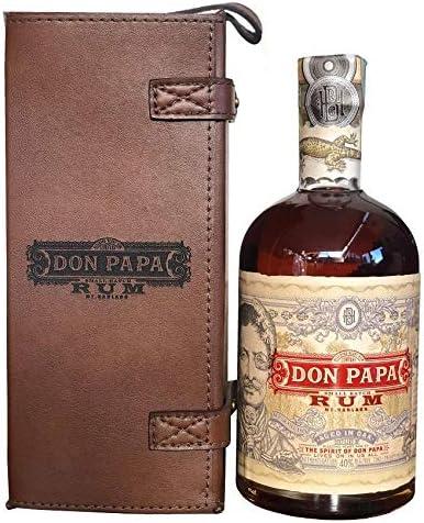 DON PAPA RUM 70 CL IN CONFEZIONE DI PELLE: Amazon.es ...