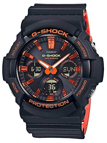 Casio G-Shock Bright Orange Analog-Digital Series GAS100BR-1A