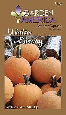 Garden America CUC-1146 Winter Luxury Winter Squash Seed