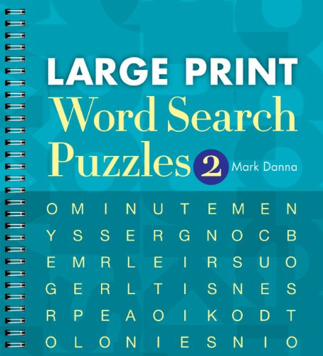Large Print Word Search Puzzles 2: Mark Danna: 9781402790300 ...