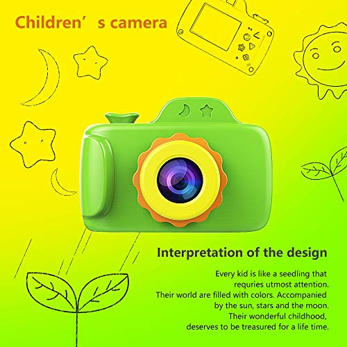 ZTour Smallest Kid Digital Camera, Mini Creative Cute HD Digital Children Camcorders,Sport Action Toy Camera Video Recorder with 1.5 Inch Screen,Soft Silicone Protective Shell for Boys Girls Gifts by ZTour (Image #1)