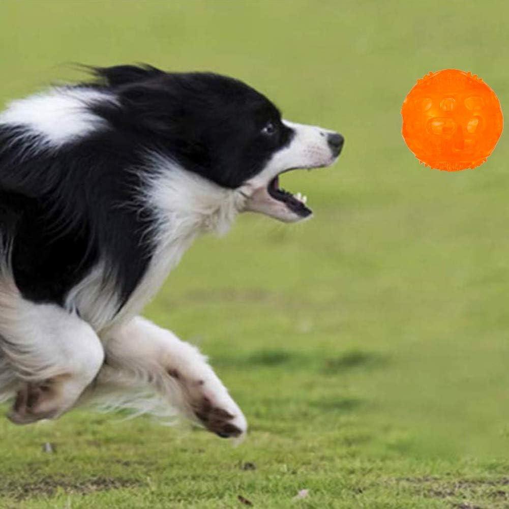 el Di/ámetro 8cm fanshiontide 3 Piezas Pelota Perro Impermeable Bola Inflable Goma Juguete Perro Bolas de Juguetes para Mascotas