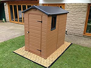 7x4 garden shed base grid full eco kit x for Garden shed 7x4