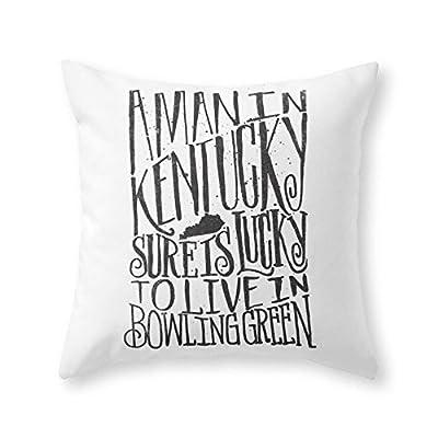 Society6 KENTUCKY MAN Throw Pillow
