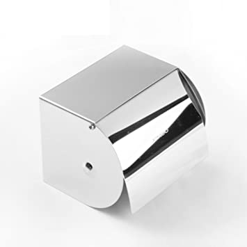 HCP Bad-Accessoires/Edelstahl-Badezimmer-Toilettenpapier-Boxen ...