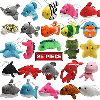 36X Plastic Ocean Forest Animals Figure Sea Creatures Turtle Whale Model Toys