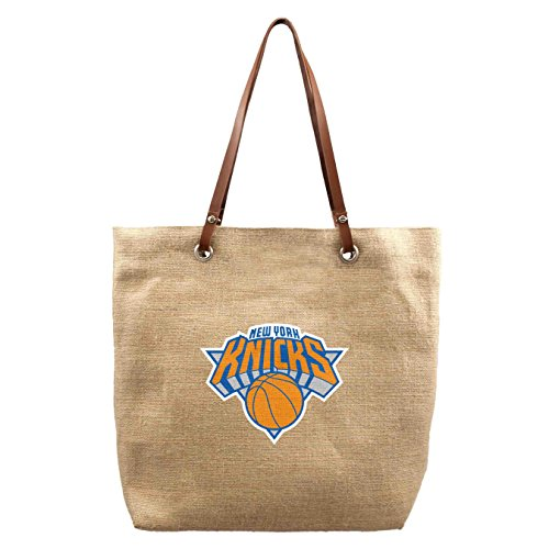 NBA New York Knicks Burlap Market Tote