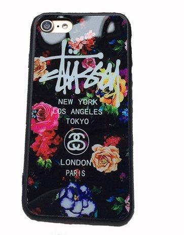 【STUSSY ステューシー】iPhone6/6sスマホケース カバー フラワーデザイン [並行輸入品] (iPhone6/6s )