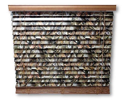 Mini Blinds Realtree Hardwoods 47 x 64 (Camo Window Blind)