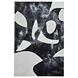 Black and White Abstract Canvas Print, 24'' x 36''