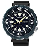 Seiko SRP655 Prospex Automatic Rubber Strap Black Hard Coat Men's Watch