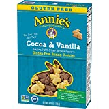 Annie's Gluten Free Cookies, Cocoa & Vanilla Bunny Cookies, 6.75 oz Box (Pack of 6)