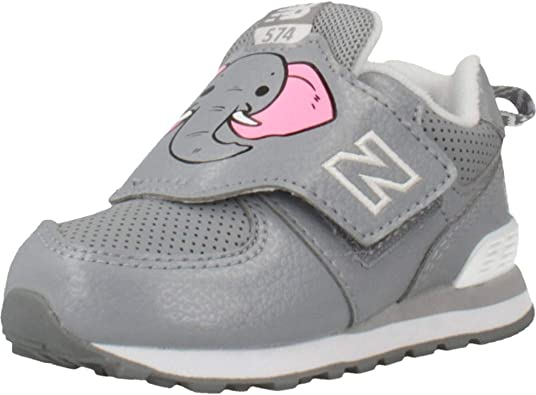 New Balance Zapatilla Niña Day At The Zoo IV574ZOE T-23: Amazon.es: Zapatos y complementos