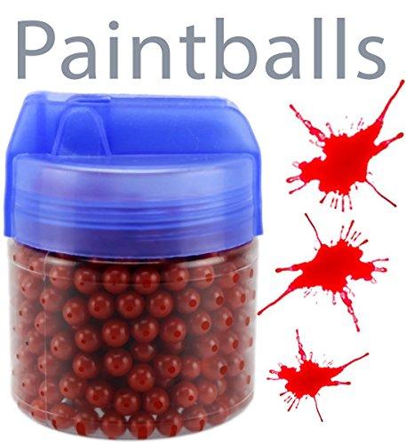 Softair-Paintball-Munition GYD 500 Stück 6mm.BB Rote-Kugeln