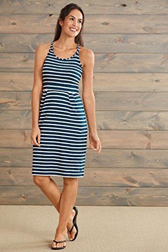 Fair Indigo Fair Trade Organic Strappy Tank Dress