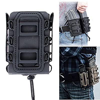 Soft Shell Scorpion Rifle Mag Carrier Magzine Pouch For 5.56 / 7.62
