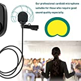 UHF Wireless Lavalier Lapel Microphone,Upgraded
