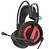 Gaming Headset, E-BLUE EHS957 Over Ear Headphones with Mic and Volume Control Stereo Niose Cancelling for PS4 and Xbox One(EHS957) For Sale