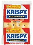 Krispy Saltine Crackers 2-Count, -Ounce Packages (Pack of 500)