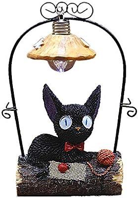 MOIMK Lámpara De Resina Creativa Luz De La Noche del Gato ...