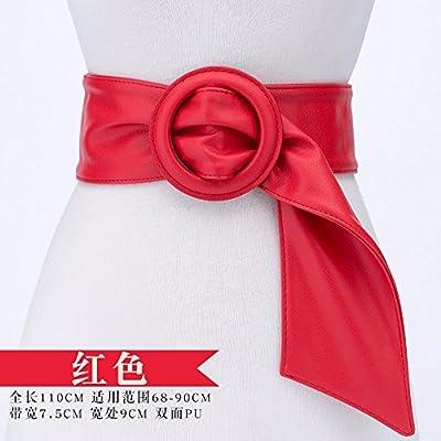 19e41b548e08 2018 female fashion ceinture largeur robe pull taille décoration