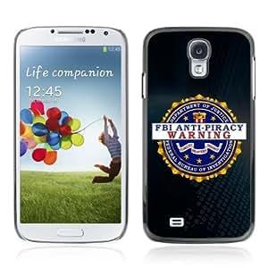YOYOSHOP [FBI Sign] Samsung Galaxy S4 Case hjbrhga1544