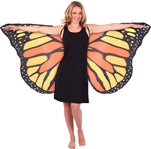Adult Monarch Butterfly Costumes (Kangaroo's Butterfly Wings - Adult)
