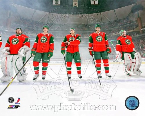 Minnesota Wild 2013 NHL National Anthem Photo (Minnesota Wild Photograph)