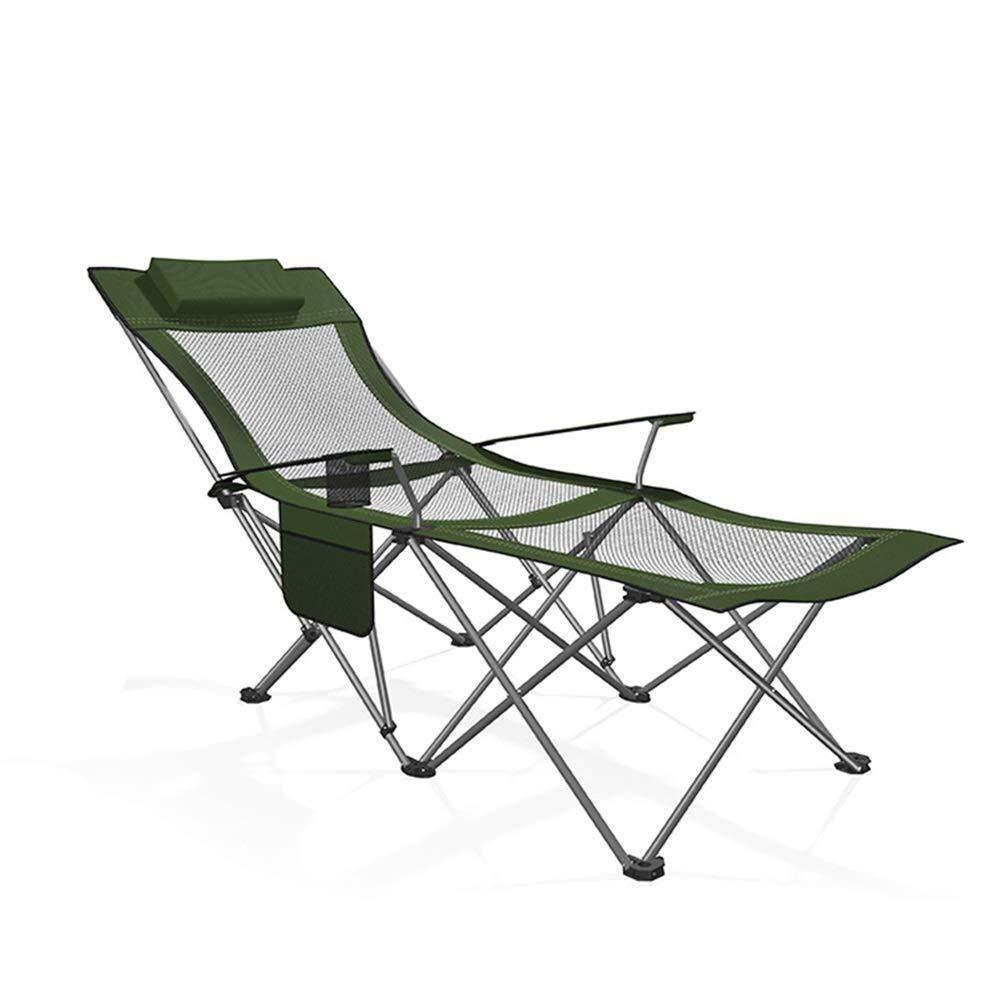 ラウンジチェア折りたたみキャンプチェアスチールフレームパッド入りアームレストとカップホルダー軽量ポータブル安定用釣りピクニック屋外用キャリーバッグ,a a