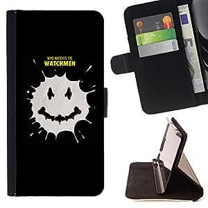 - - Estilo PU billetera de cuero del soporte del tir???¡¯????n [solapa de cierre] Cubierta- For Samsung Galaxy S5 Mini, SM-G800 £¨ Devil Case £©