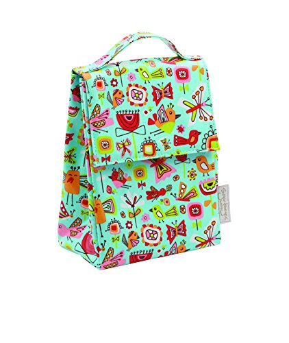 Sugarbooger Classic Lunch Sack, Birds & Butterflies (Classic Lunch)