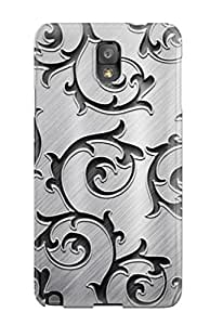 Galaxy Note 3 Cover Case - Eco-friendly Packaging(black And White Patterns)