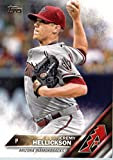2016 Topps #104 Jeremy Hellickson Arizona Diamondbacks Baseball Card in Protective Screwdown Display Case