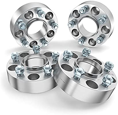 """2pc 1/"""" 5x4.5/"""" to 5x5.5/"""" Wheel Spacers Adapters for Pickup Truck SUV Loctite ie"""