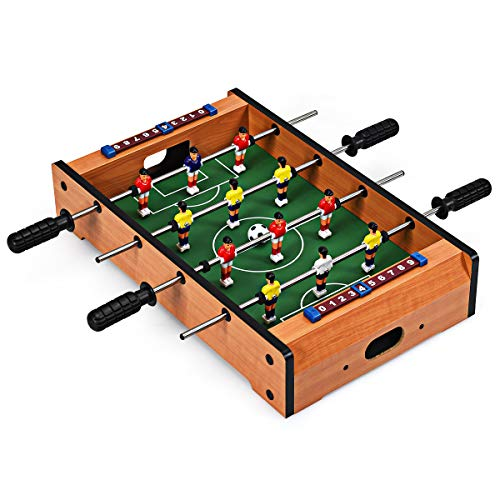 Giantex 20' Foosball Soccer Competition Table Top Set Game...