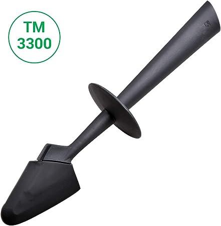 Espátula para Vorwerk Thermomix® TM3300 TM31 TM21 TM5 TM6 robot de cocina (300 x 70 x 70 mm), color gris oscuro: Amazon.es: Hogar